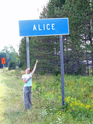 Alice in Quebec