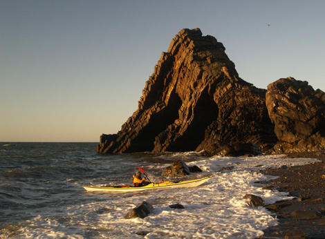 Blackchurch Rock, North Devon