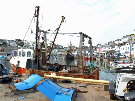 Brixham harbour, home of Brixham Coastguard