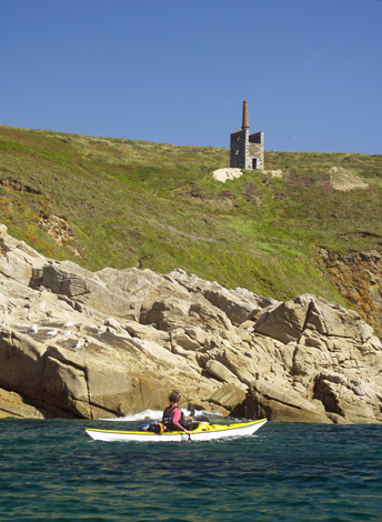 Trewavas Head, Mount's Bay, South Cornwall